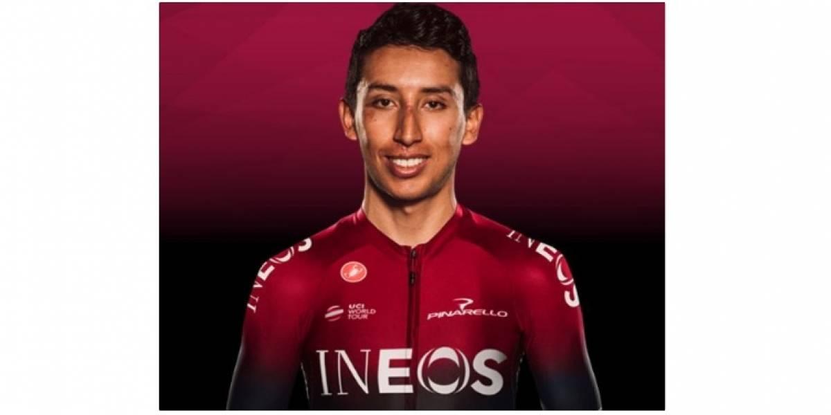¡Malas noticias! Egan Bernal se fracturó la clavícula y se baja del Giro de Italia 2019