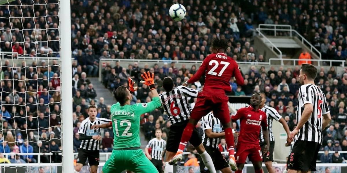 Origi rescata al Liverpool entre la agonía y se mantiene en la pelea