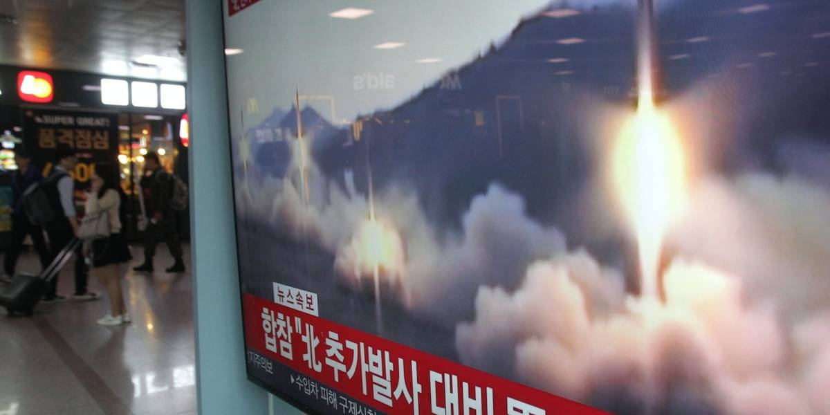 Norcorea dispara al mar varios misiles de corto alcance