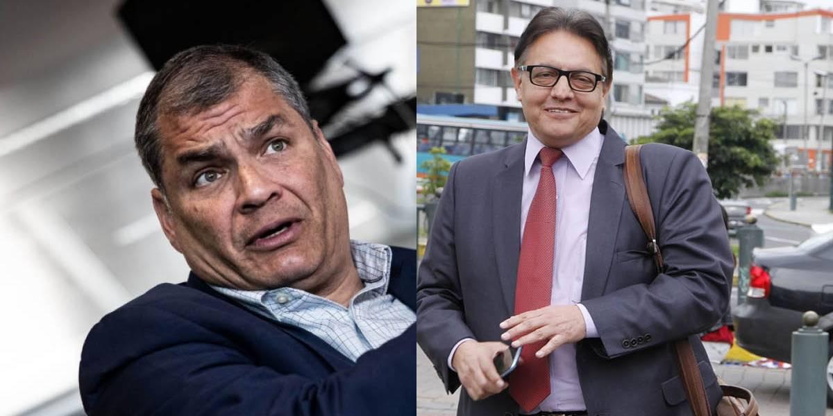 Rafael Correa se pronunció sobre Fernando Villavicencio