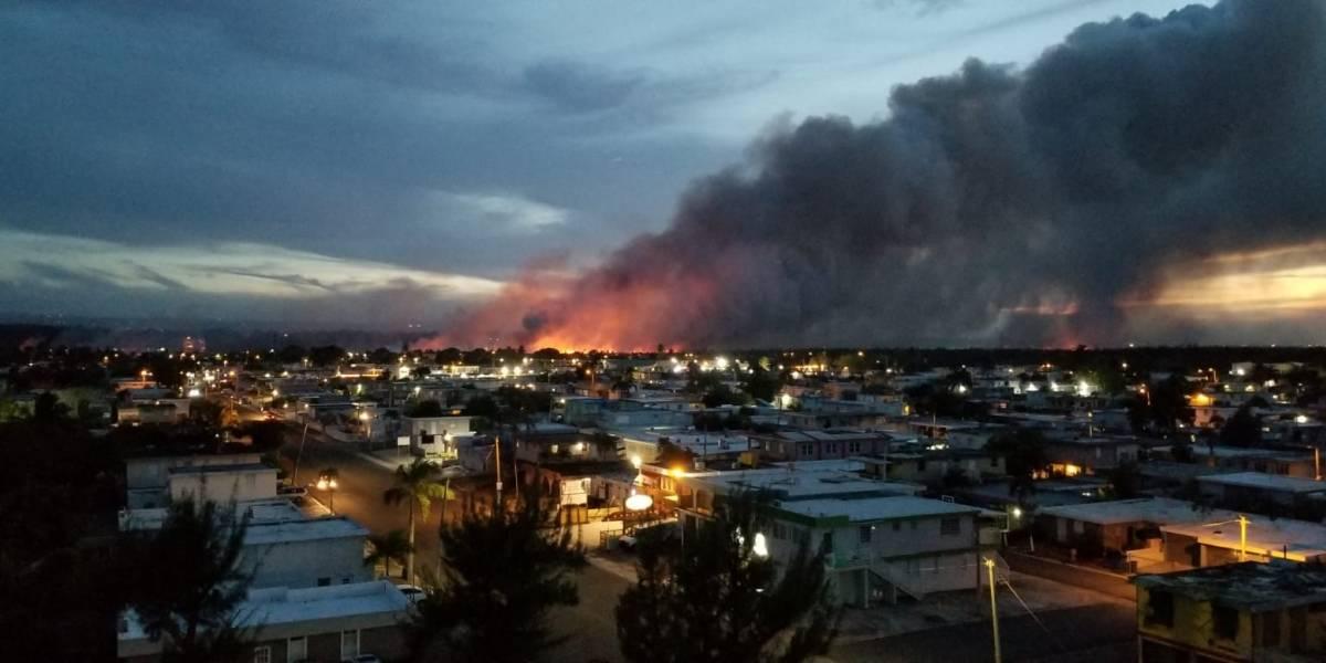 Drástico aumento de incendios forestales