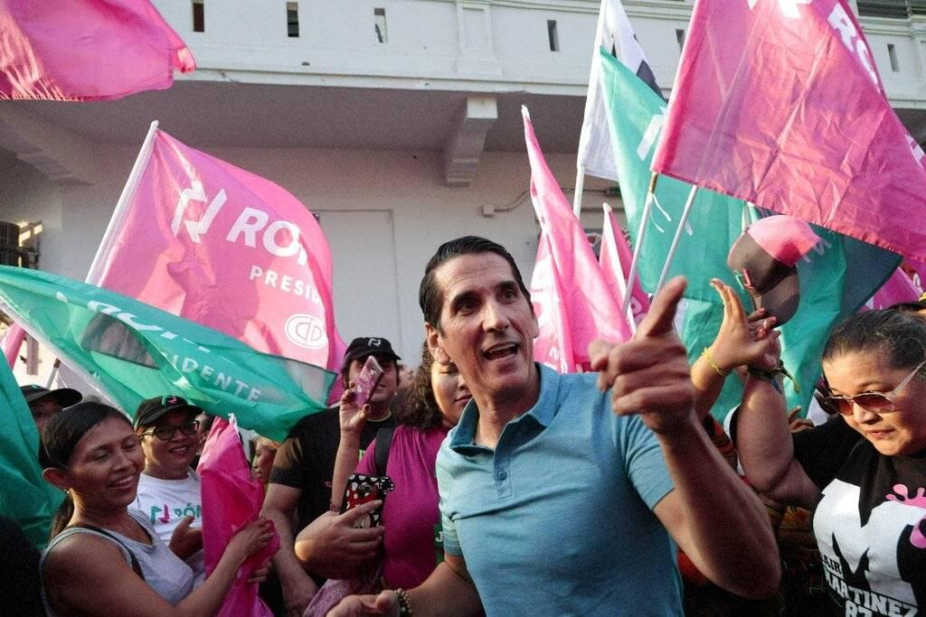 El candidato presidencial Romulo Rou. Foto: AP