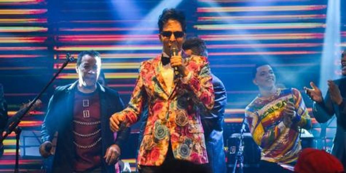 Bonny Cepeda celebra 35 aniversario en histórico concierto