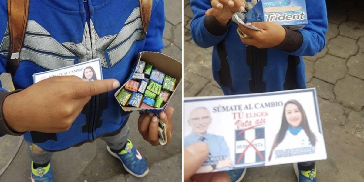 Partido Humanista niega pago a niño para hacer campaña