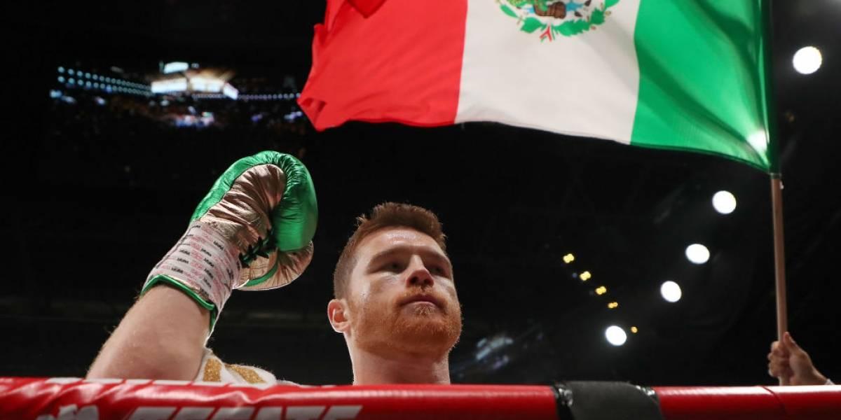 Saúl 'Canelo' Álvarez ganó el título de peso medio de la FIB