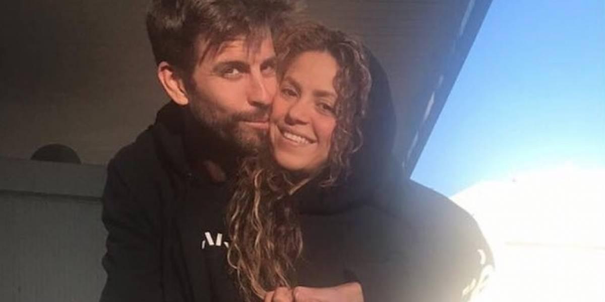 Las fotos de Shakira y Piqué derrochando amor en plena fiesta