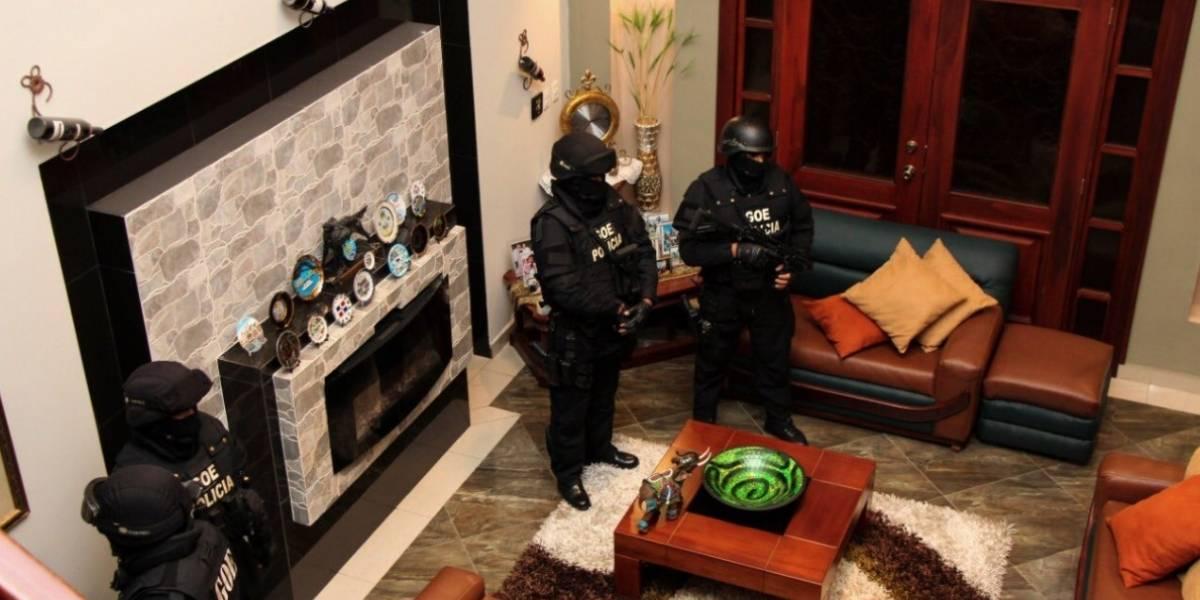 Caso Arroz Verde: Fiscalía y Policía allanaron siete inmuebles en Quito y Guayaquil