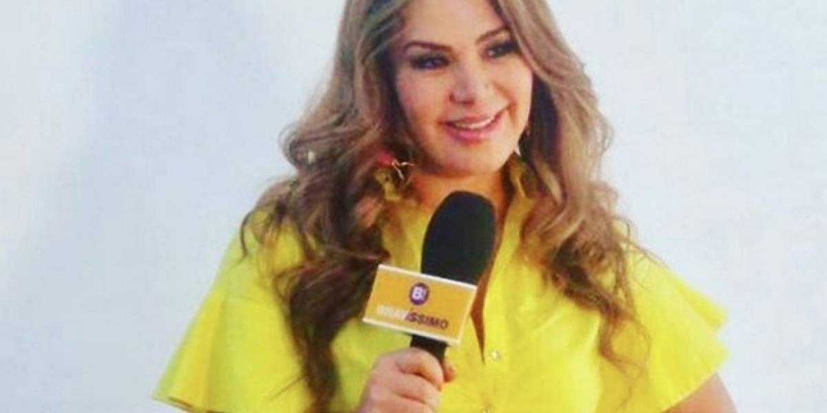 Video: en medio de una entrevista Lady Noriega muestra su ropa interior