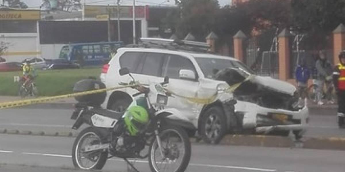 Fuerte accidente de tránsito en la Avenida Suba dejó un conductor muerto