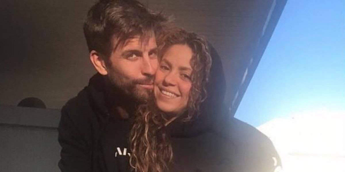 Shakira y Piqué comparten tierna foto para demostrar su amor