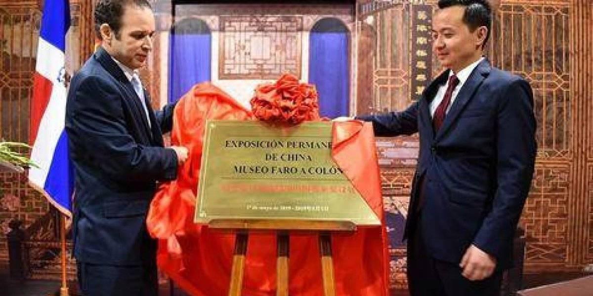 China inaugura sala museográfica en el Faro a Colón