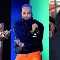 Justin Bieber y J Balvin en medio de una polémica por Chris Brown