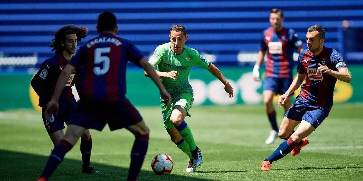 Guardado y Lainez se quedan sin Europa League para la próxima temporada