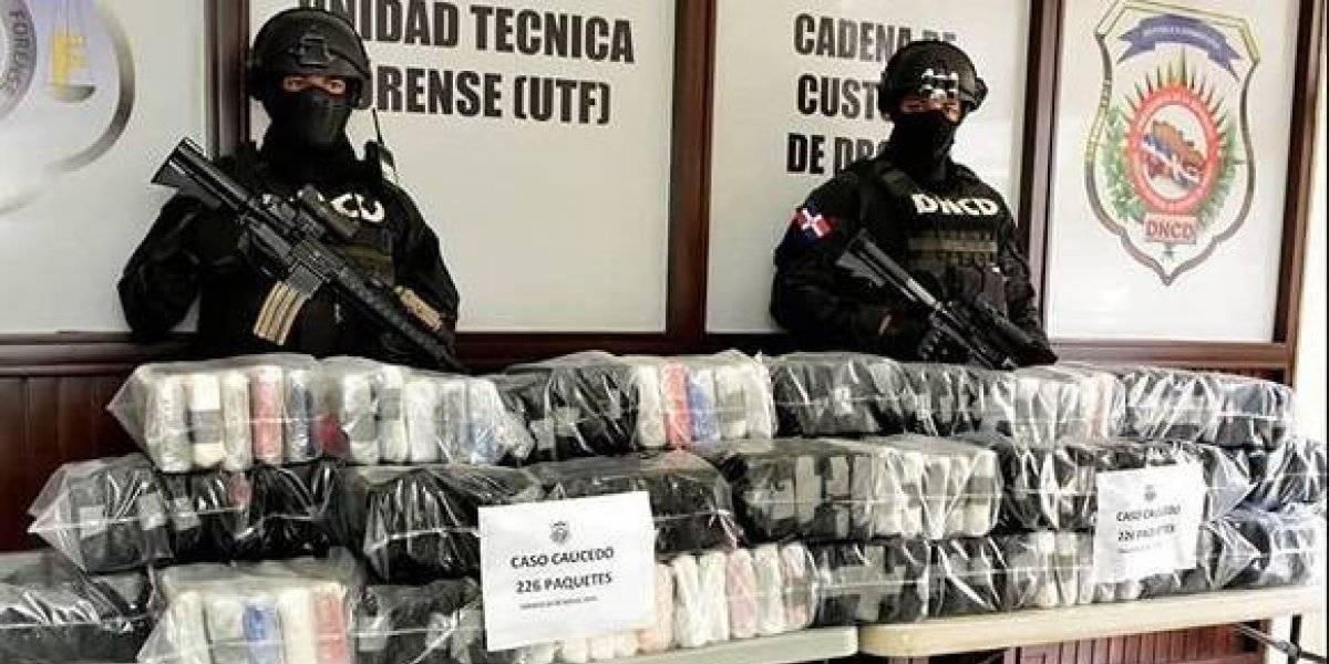 Decomisan en R.Dominicana 226 paquetes de droga que iban a Holanda