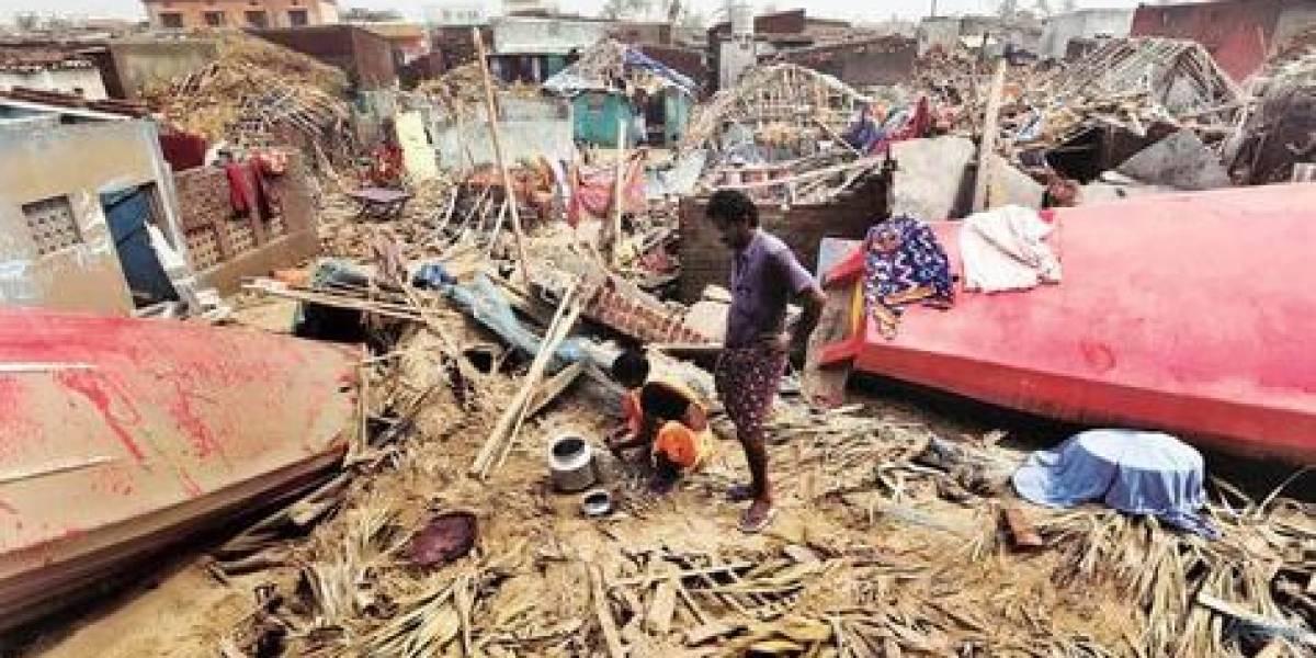 Fani dejó estela de terror y casi un millón de evacuados en India