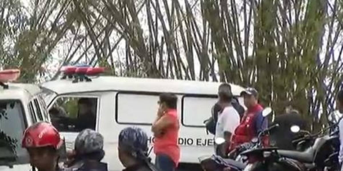 Sospechan de atentado en la caída de helicóptero con militares en Caracas