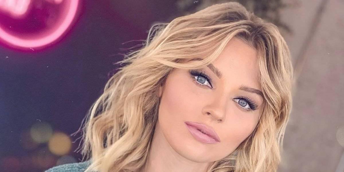 Reportero confunde a Irina Baeva con Geraldine Bazán