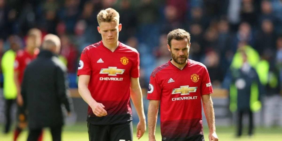 Manchester United se despide de la Champions League