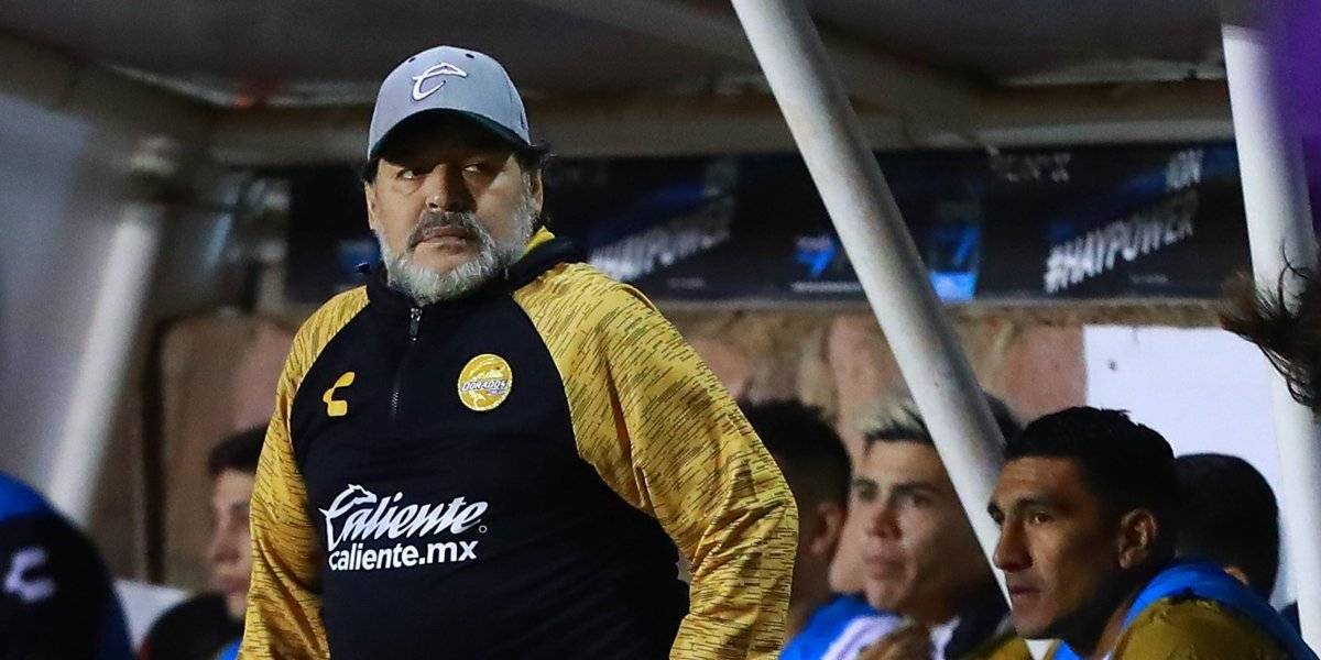 San Luis vs. Dorados: Maradona quiere retruco