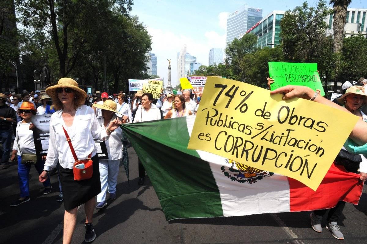 Miles de manifestantes pidieron la renuncia de López Obrador. Foto: Cuartoscuro