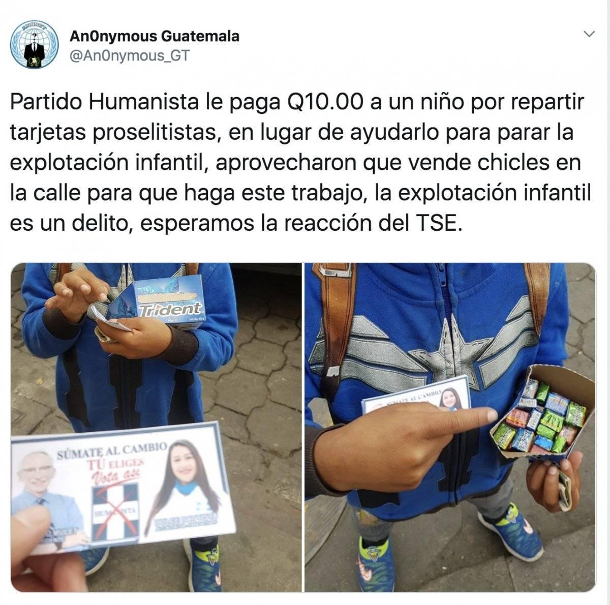 Niño campaña Humanista