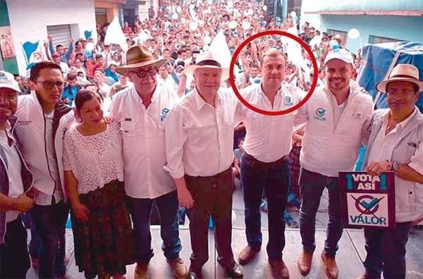Pablo Rolando Moll Girón, partido Valor