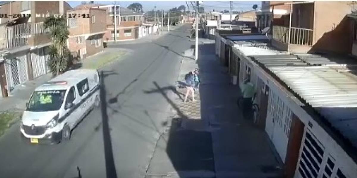 Video: patrulla de policía atropelló a un perro y no hizo nada para ayudarlo
