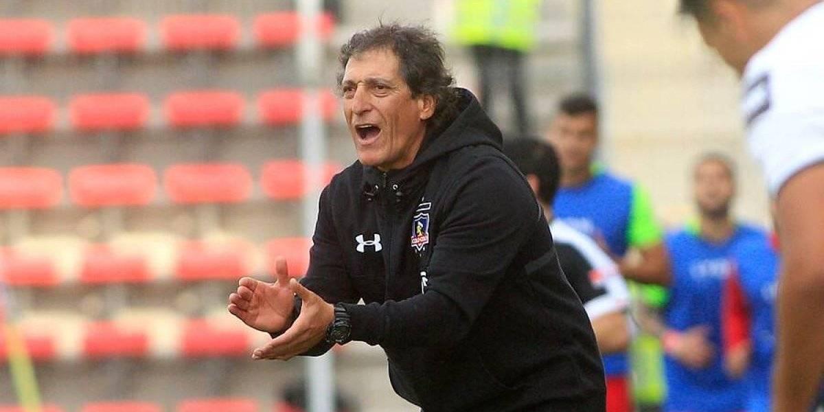 """Mario Salas y el sufrido empate de Colo Colo: """"Para mí es un punto ganado"""""""