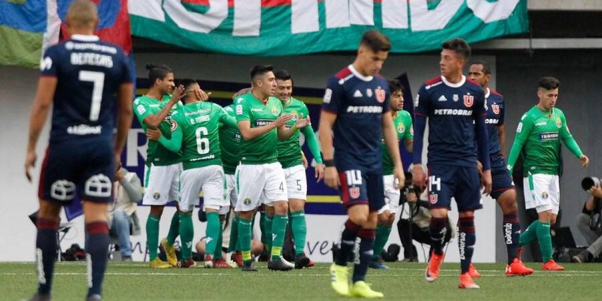 La U sigue con su triste momento, perdió ante Audax y es el absoluto colista del fútbol chileno