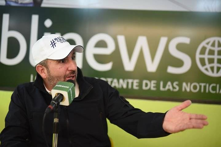 Roberto Arzú, candidato presidencial
