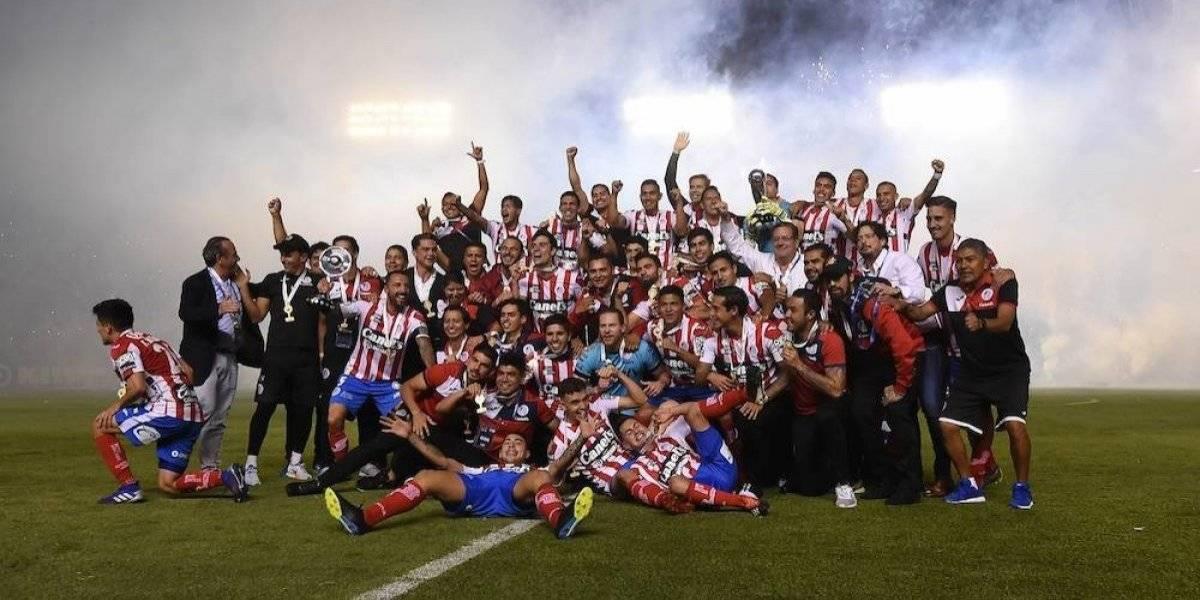 San Luis repite dosis a Dorados y Maradona y sube a Primera División