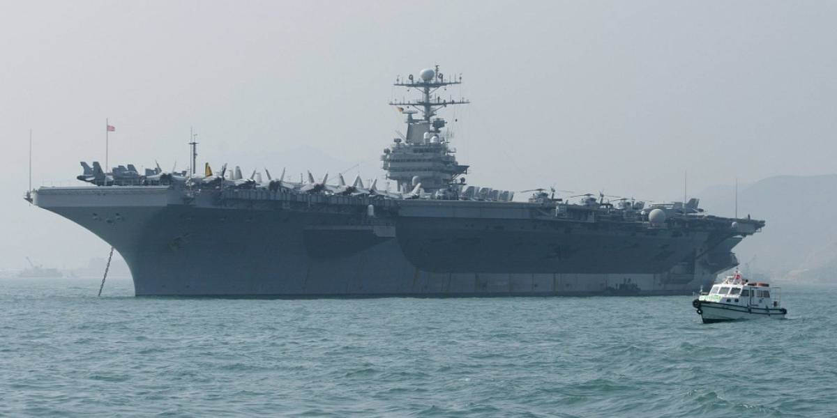 """EE. UU. envía portaaviones y bombarderos a Medio Oriente, en """"mensaje"""" a Irán"""