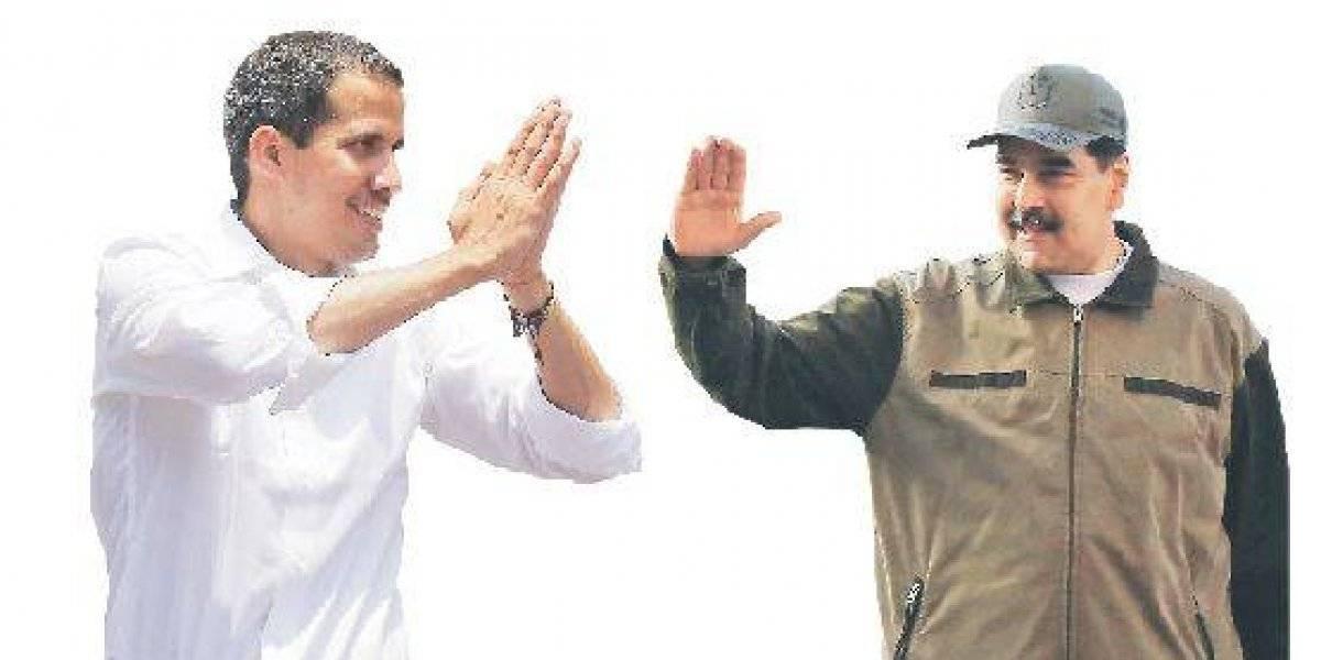 Del choque a la negociación: los caminos de Guaidó para derrocar a Maduro
