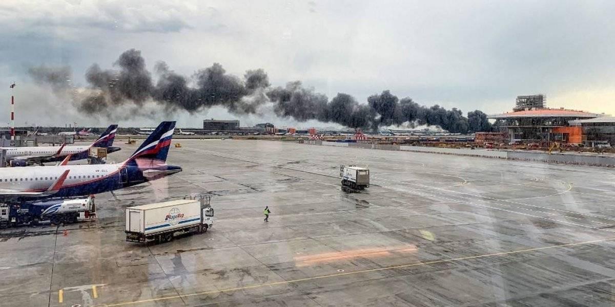 Piloto revela la posible causa del trágico incendio en el avión ruso