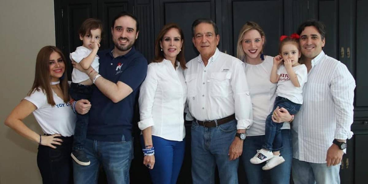 Primera familia de Panama