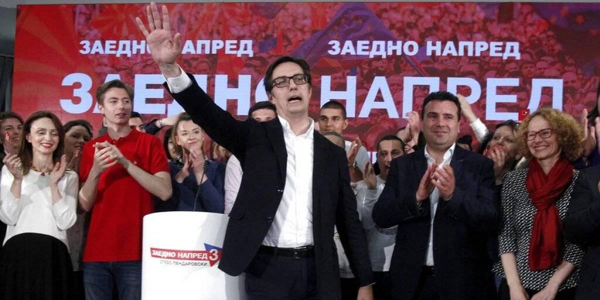 Stevo Pendarovski gana las elecciones en Macedonia del Norte