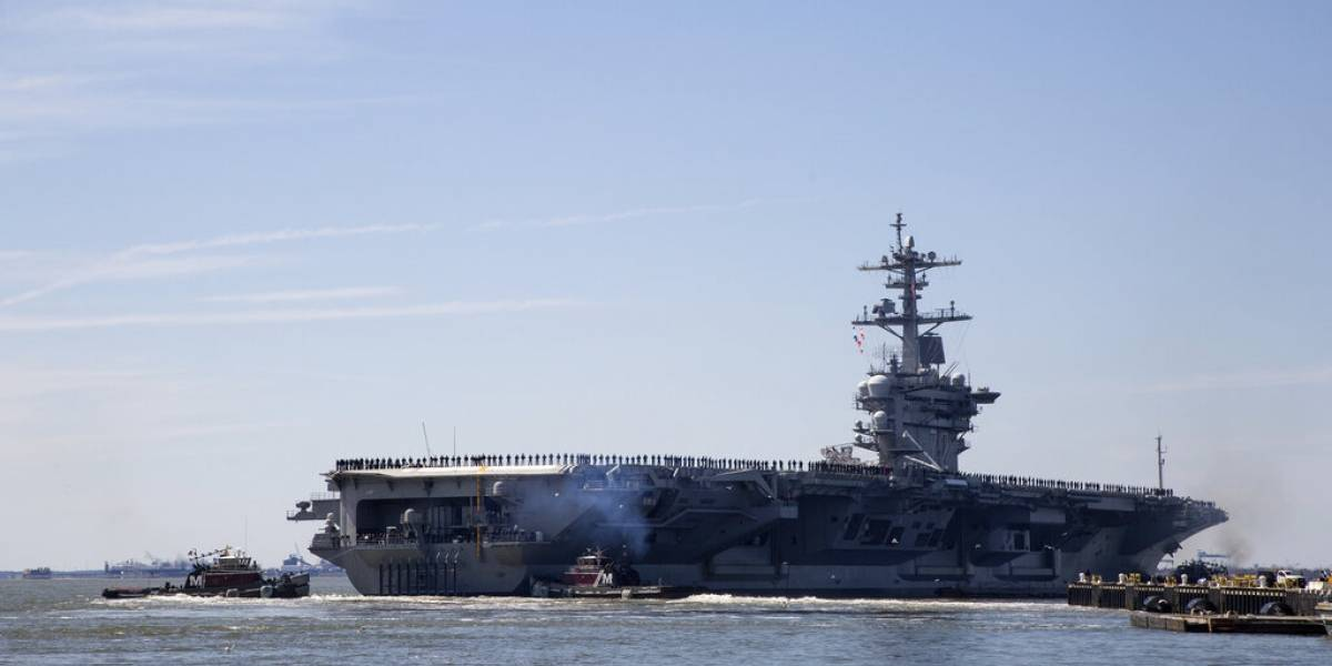 Estados Unidos lanza potente mensaje de advertencia: envía portaaviones con bombarderos tras amenazas de Irán