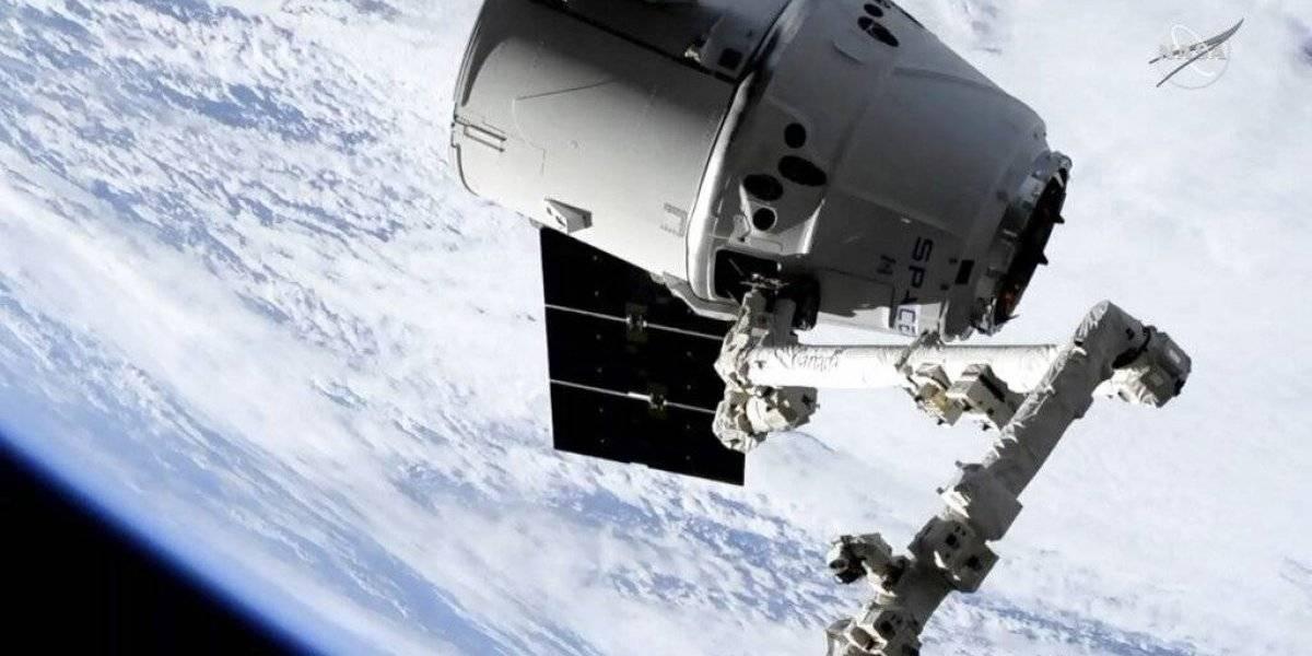 Llega cargamento SpaceX a Estación Espacial Internacional