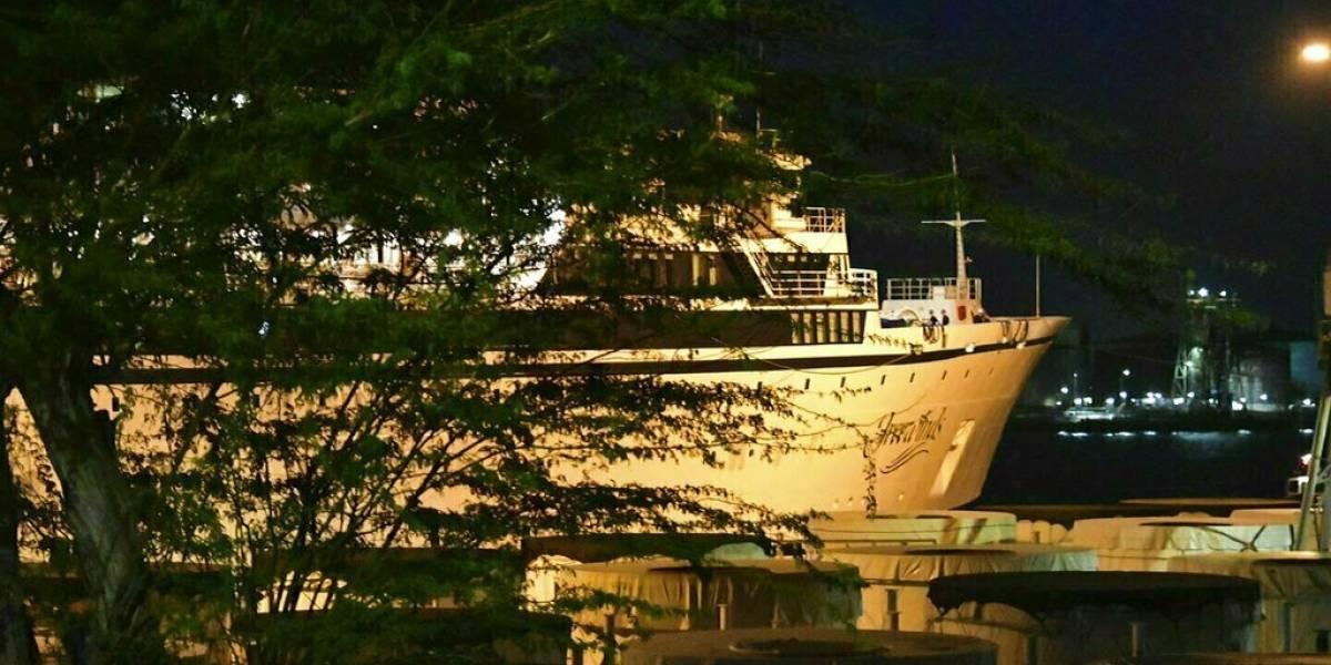 Barco de Cienciología queda en cuarentena en Curazao