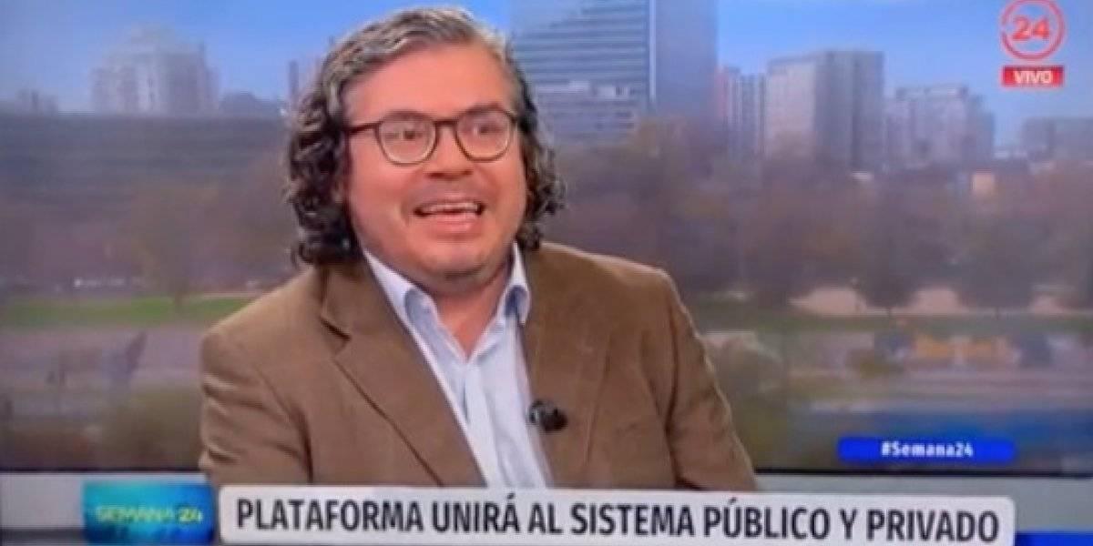 """""""Estábamos súper confundidos"""": periodistas de Canal 24 Horas protagonizaron un incómodo chascarro en vivo"""