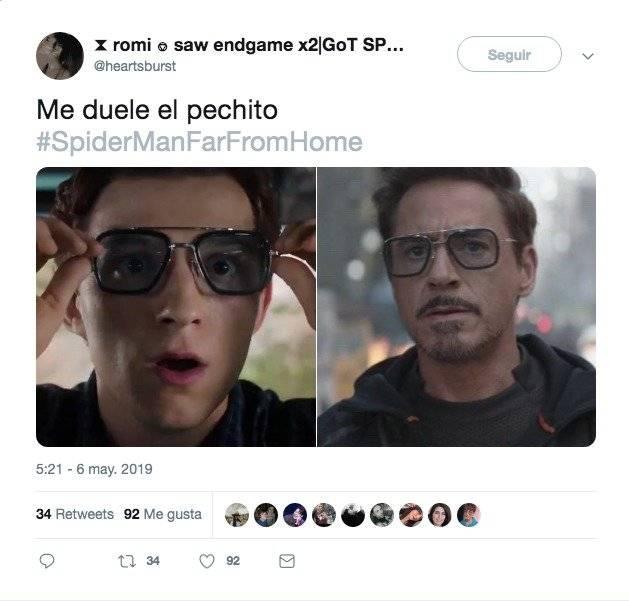 El tráiler de Spider-Man: Far From Home