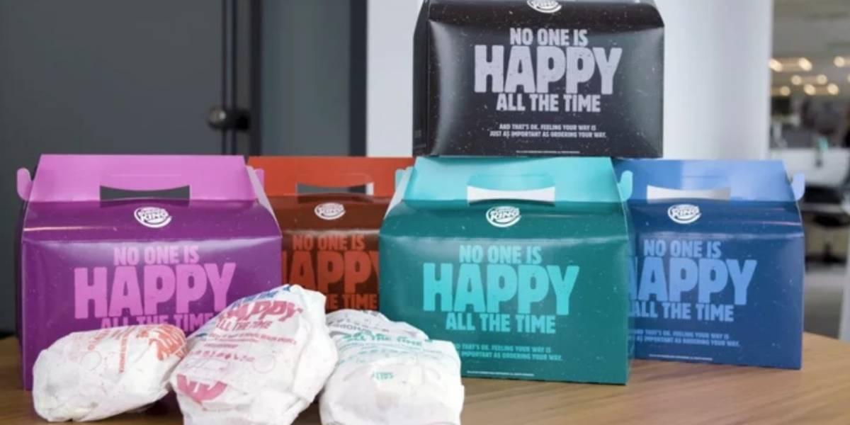 """Burger King ha lanzado una """"Cajita Infeliz"""" porque honestamente, no todos somos felices"""