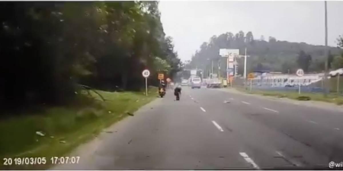 Menor de 13 años muere atropellado tras intentar cruzar peligrosa avenida
