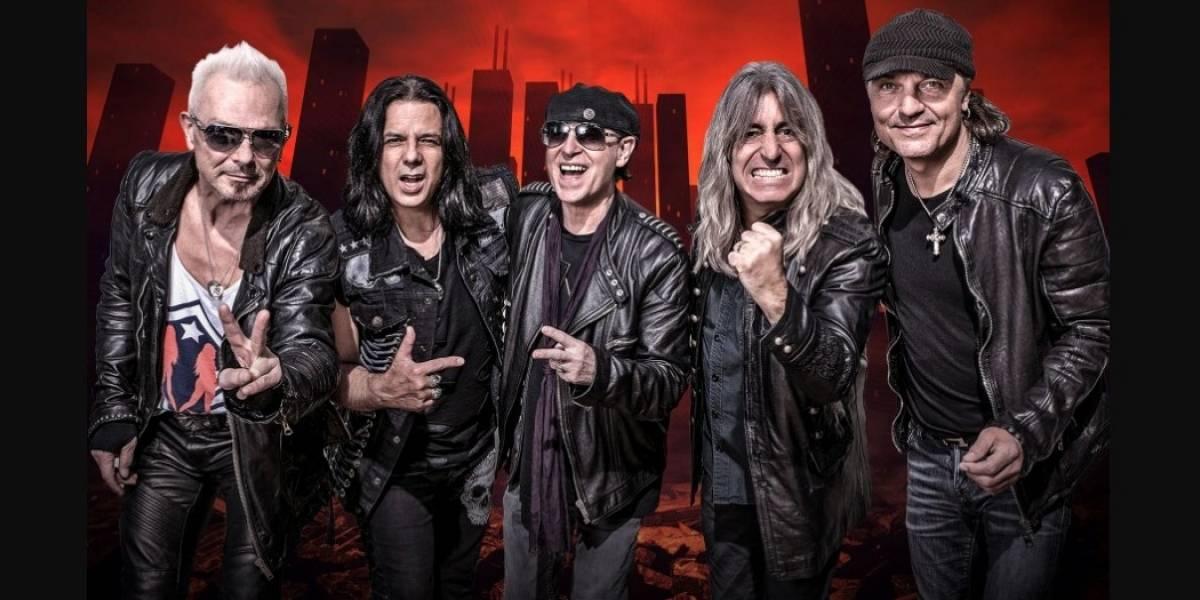 Scorpions vuelve a Colombia después de 10 años