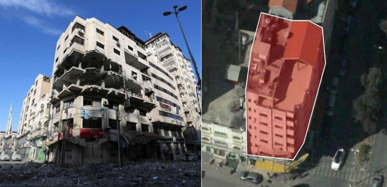 Israel señala que bombardeó edificio en la franja de Gaza porque ahí se encontraban los Hackers de Hamas