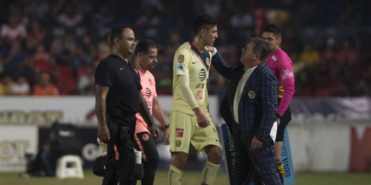Edson Álvarez se perderá el primer duelo ante Cruz Azul