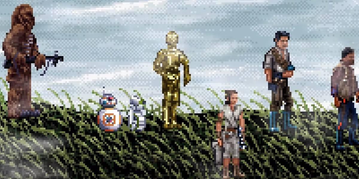 Star Wars 16 bits