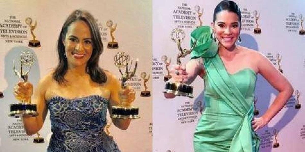 """Periodistas Esperanza Ceballos y Yisel Tejeda vuelven a ganar un """"Premios Emmy"""""""