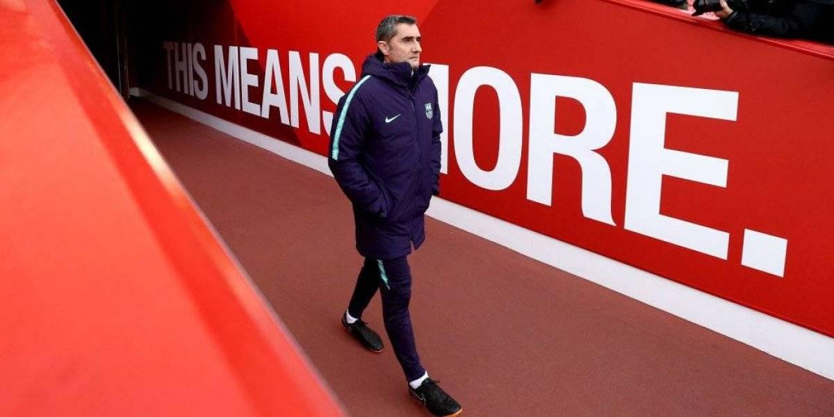 """Valverde no confirma titularidad de Vidal en Champions pero lo alaba: """"Es espectacular en el esfuerzo físico"""""""