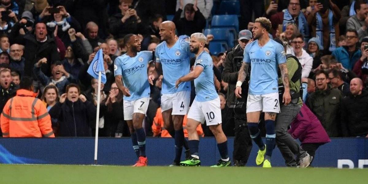 "Manchester City quedó ""match point"" en la Premier League gracias a un golazo de Kompany"